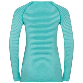 Odlo Essential Seamless T-Shirt L/S Crew Neck Women, jaded melange